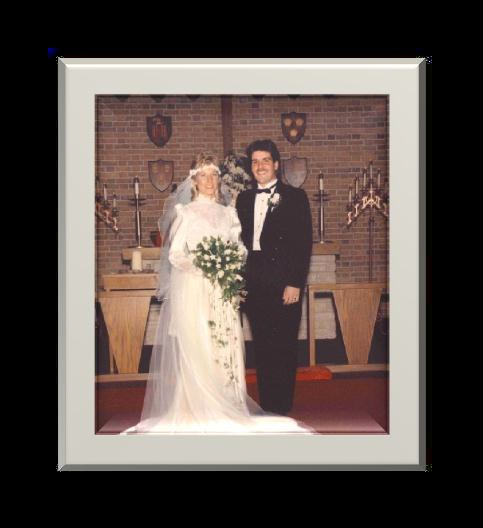Their Wedding Day 10/24/1987