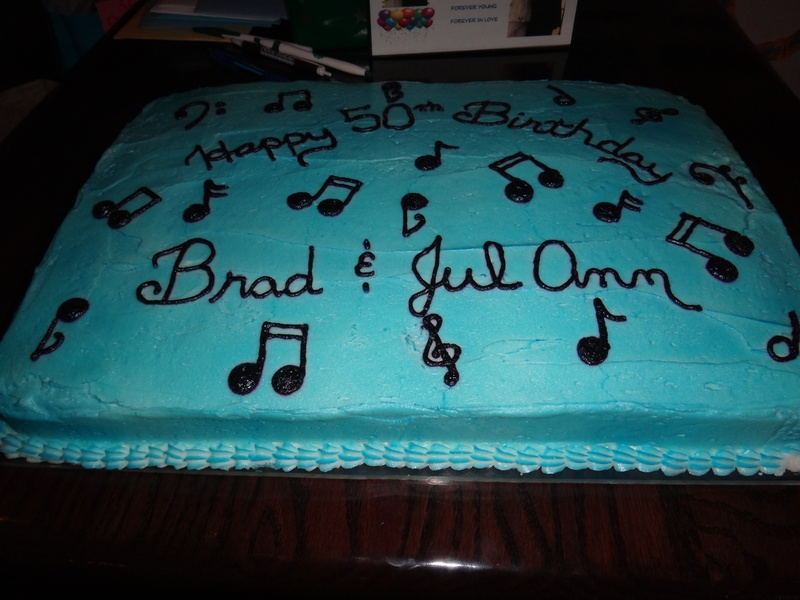 Happy 50th Birthday Brad and JulAnn